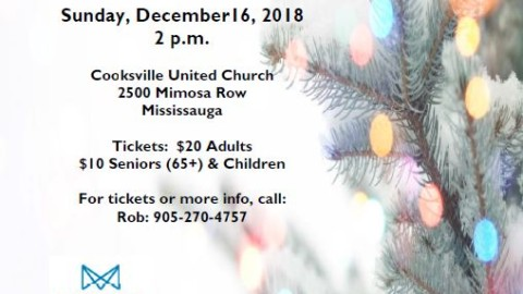 Annual Christmas Concert – Mississauga Big Band Jazz Ensemble