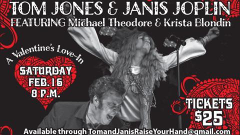 Raise Your Hand- A Tribute Tom Jones & Janis Joplin