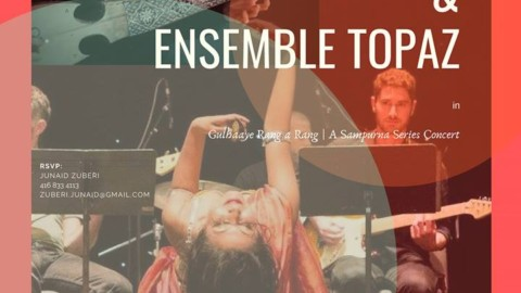 Gulhaaye Rang a Rang | Qais Essar and Ensemble Topaz